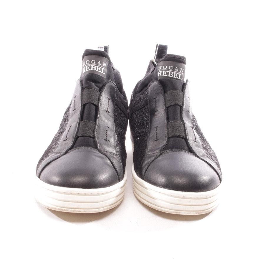High-Top Sneaker von Hogan Rebel in Schwarz Gr. D 41