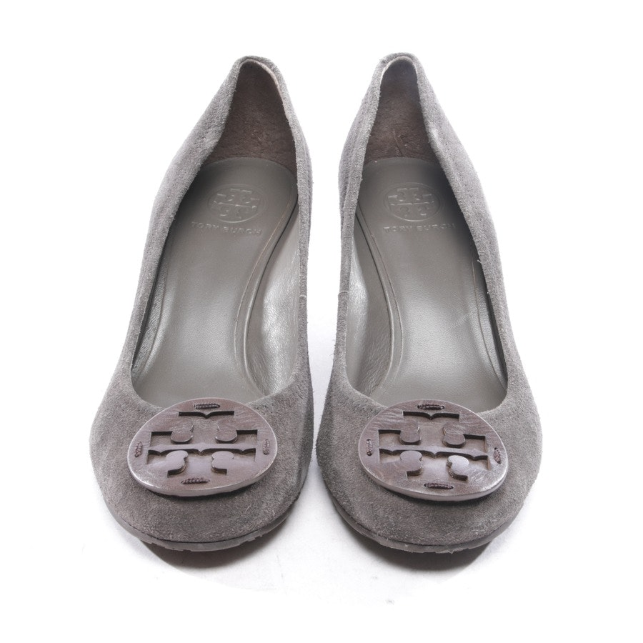 Pumps von Tory Burch in Dunkelgrau Gr. D 40,5 US 10