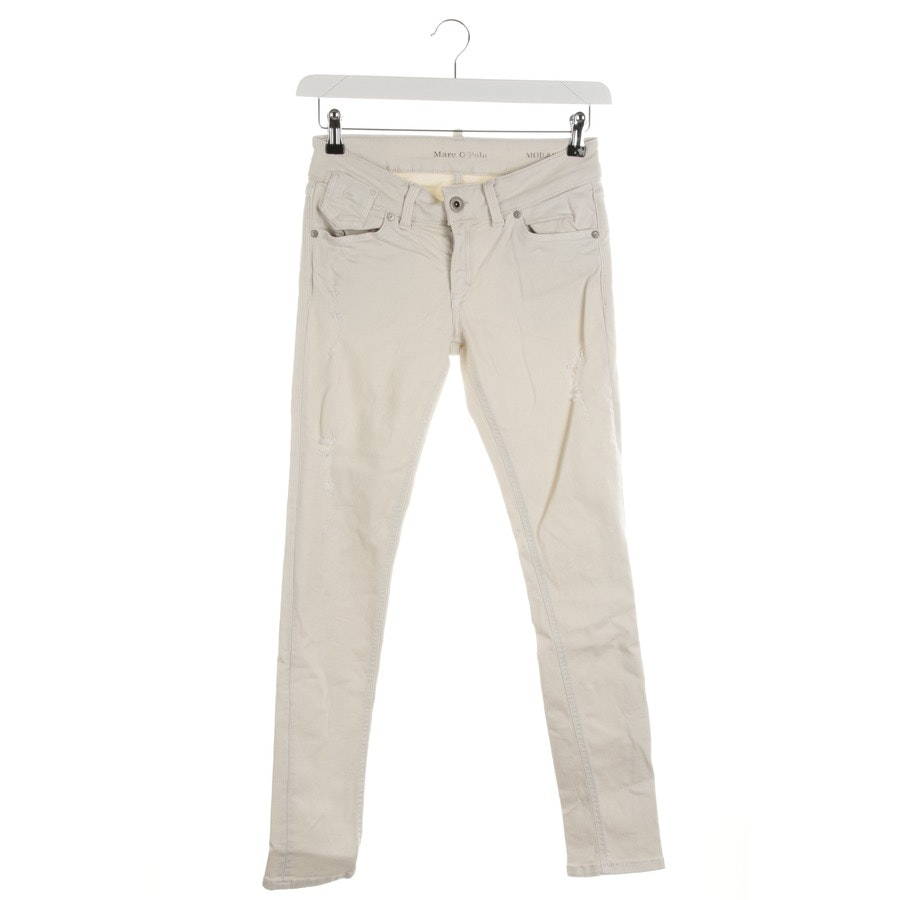 jeans from Marc O'Polo in beige size 34