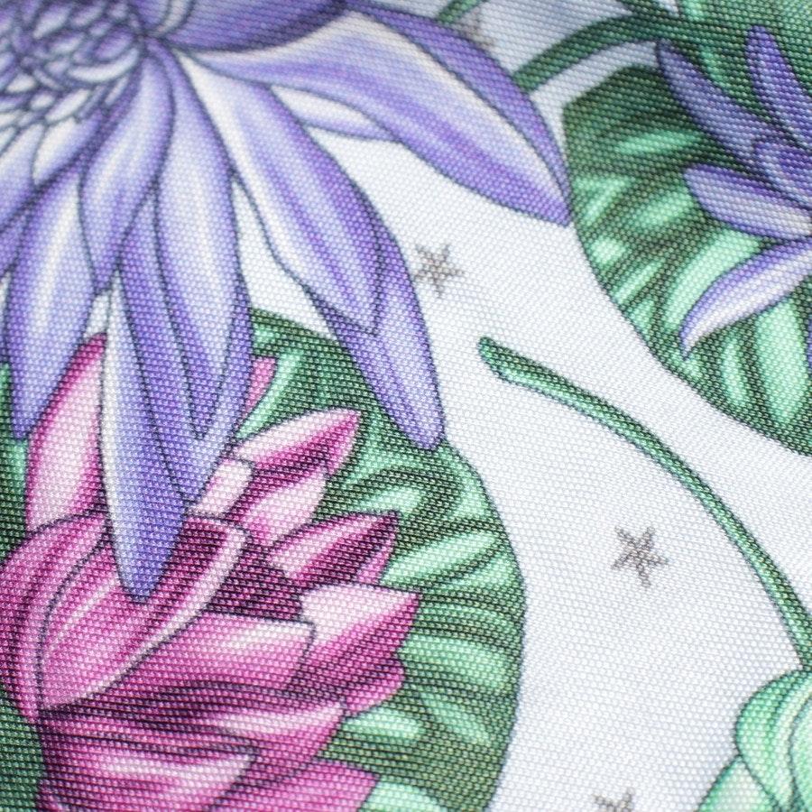 Sommerkleid von Versace Collection in Hellblau und Multicolor Gr. 40 IT 46
