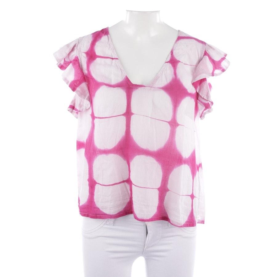 Shirt von Antik Batik in Pink und Weiß Gr. M