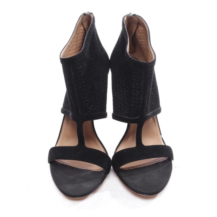Sandaletten von Salvatore Ferragamo in Schwarz Gr. D 39 US 8,5
