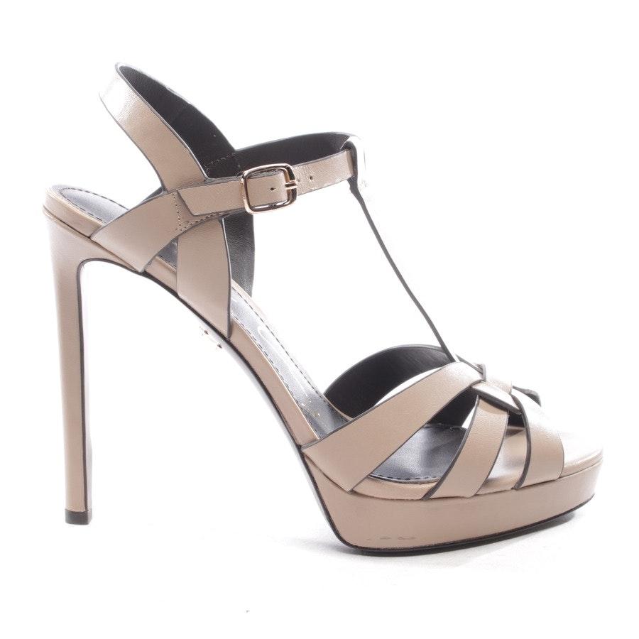 Sandaletten von Lola Cruz in Taupe Gr. D 40 - Neu