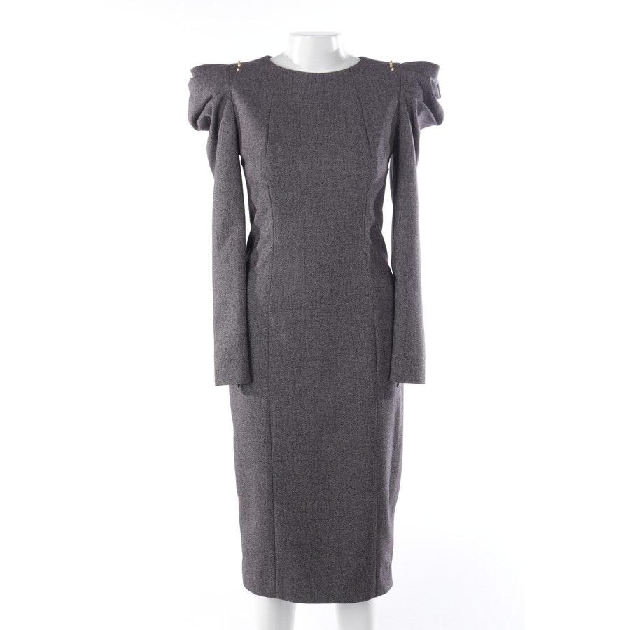 Kleid von Thomas Wylde in Grau meliert Gr. 38 US 8