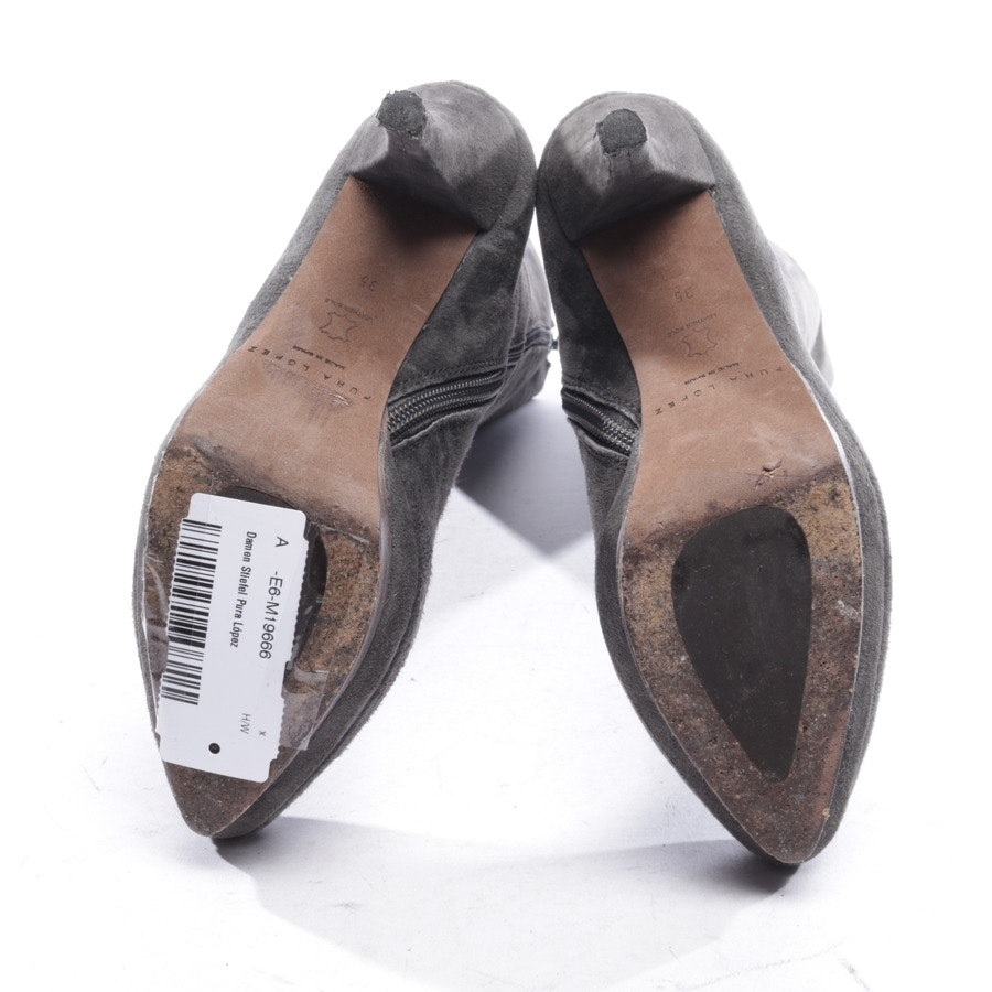 Stiefel von Pura López in Grau Gr. EUR 35