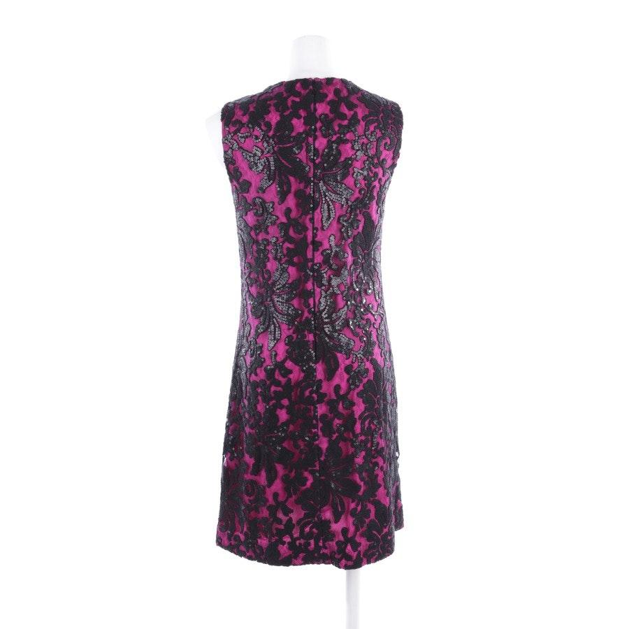Kleid von Diane von Furstenberg in Pink und Schwarz Gr. 36 US 6