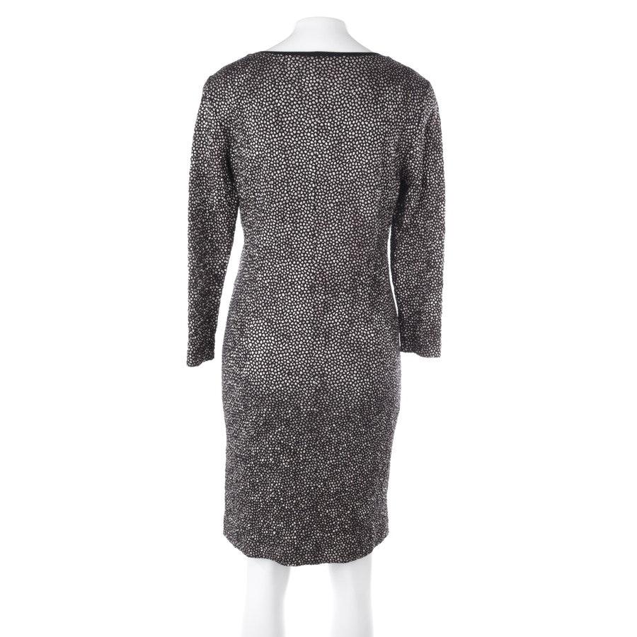 Kleid von Riani in Schwarz und Gold Gr. 38