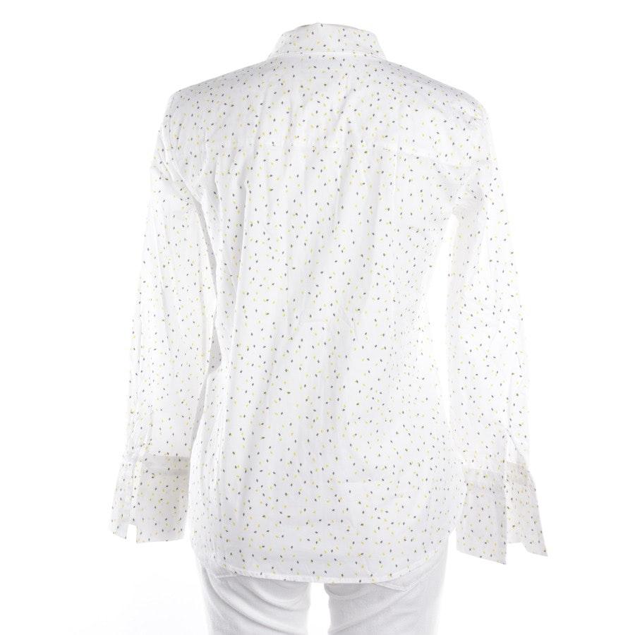 Bluse von Marc O'Polo in Weiß und Gelb Gr. 34
