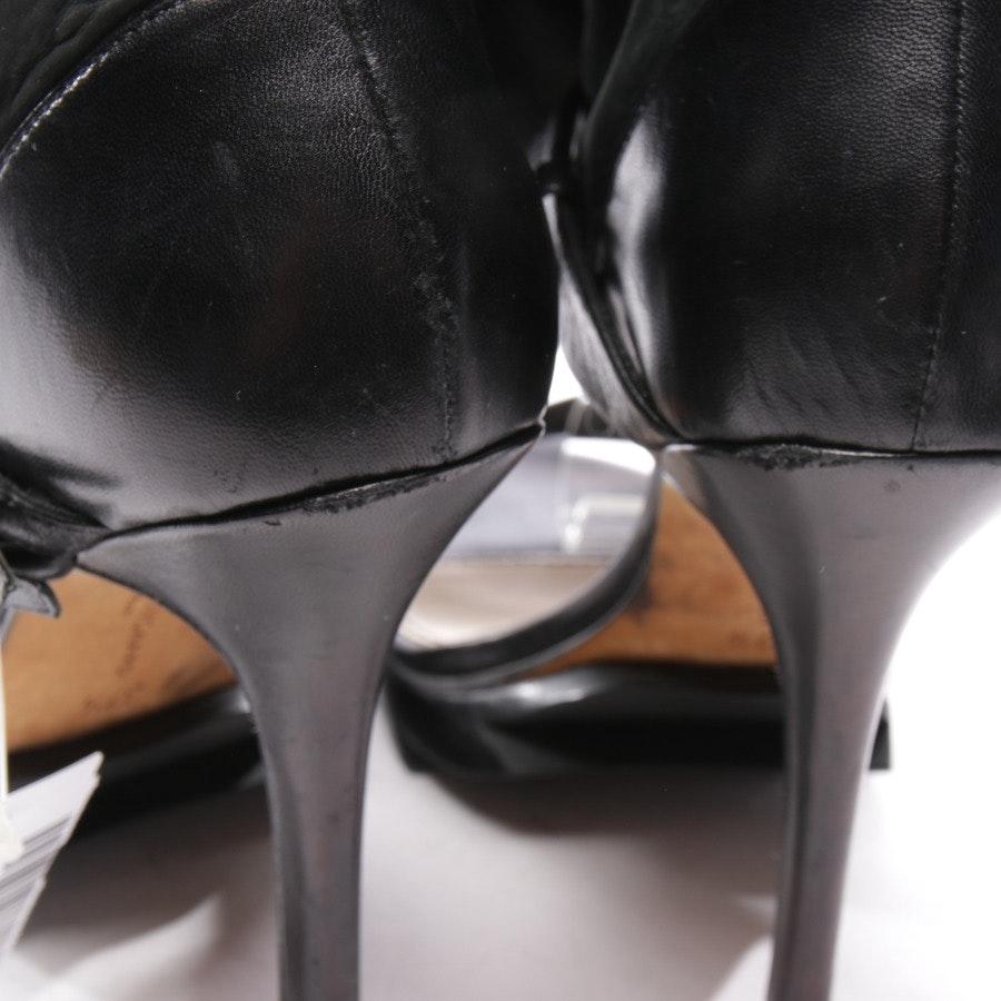 Sandaletten von Camilla Skovgaard in Schwarz meliert Gr. D 37,5