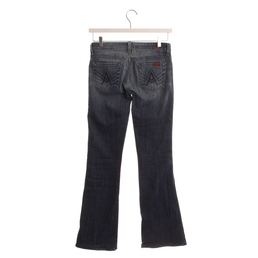 Jeans von 7 for all mankind in Jeansblau Gr. W25