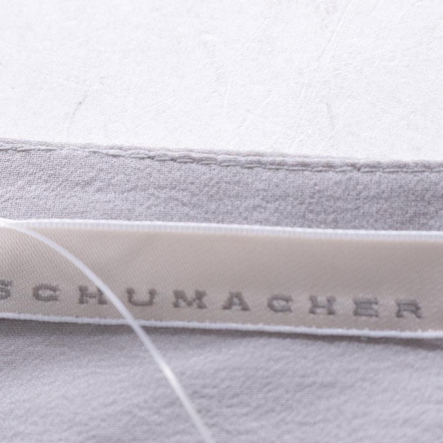 Bluse von Schumacher in Grau Gr. S