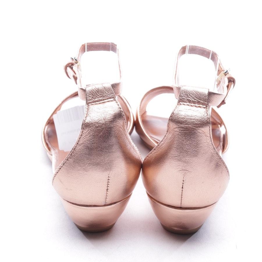 Sandaletten von Marc by Marc Jacobs in Kupfer Gr. D 40