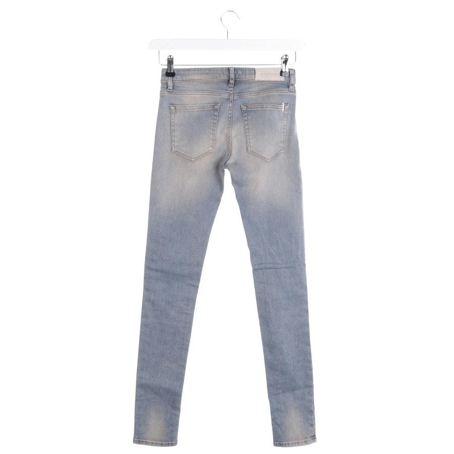 Jeans von Iro in Hellblau Gr. W24 - Fitté