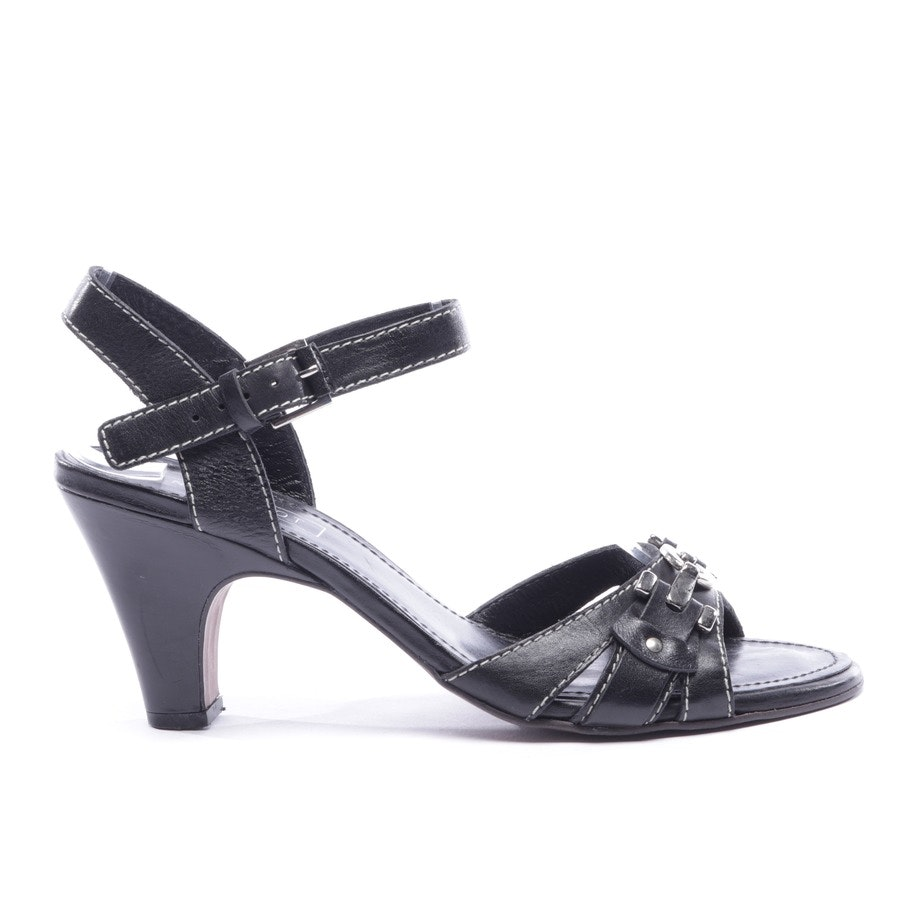 heeled sandals from Navyboot in black size D 38