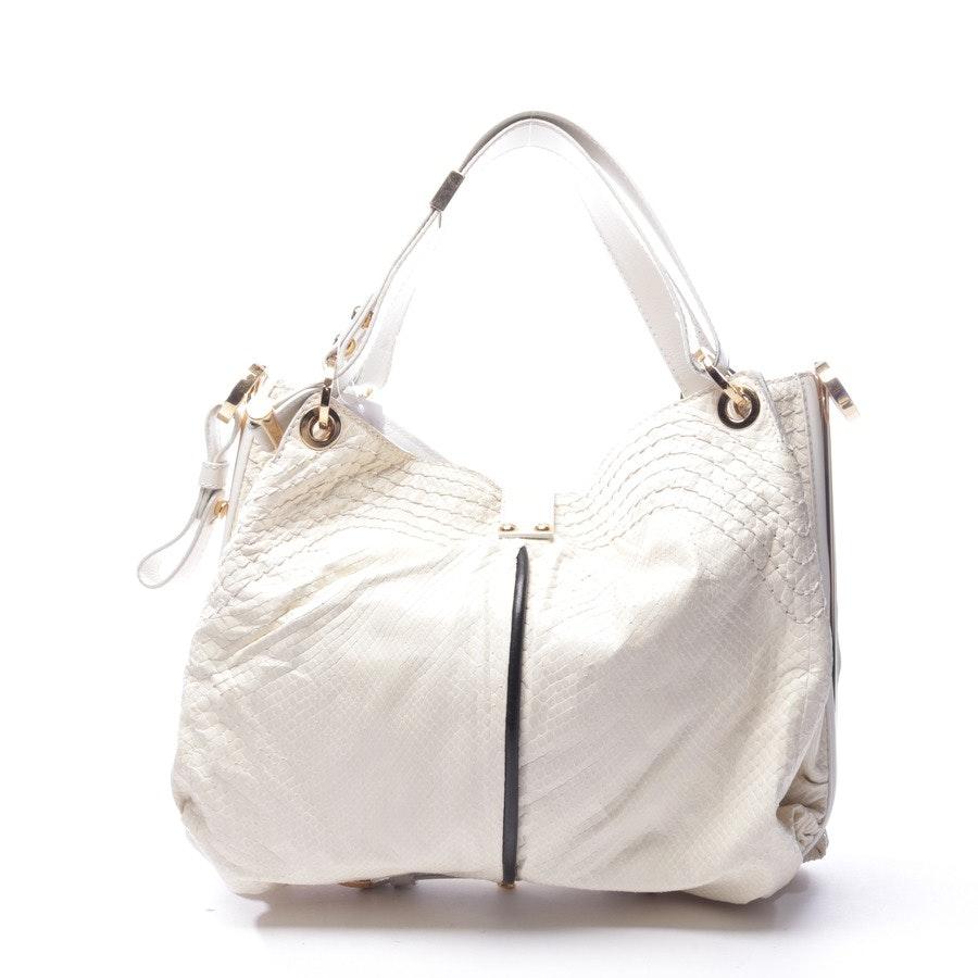 Handtasche von Jimmy Choo in Cremeweiß - Alex