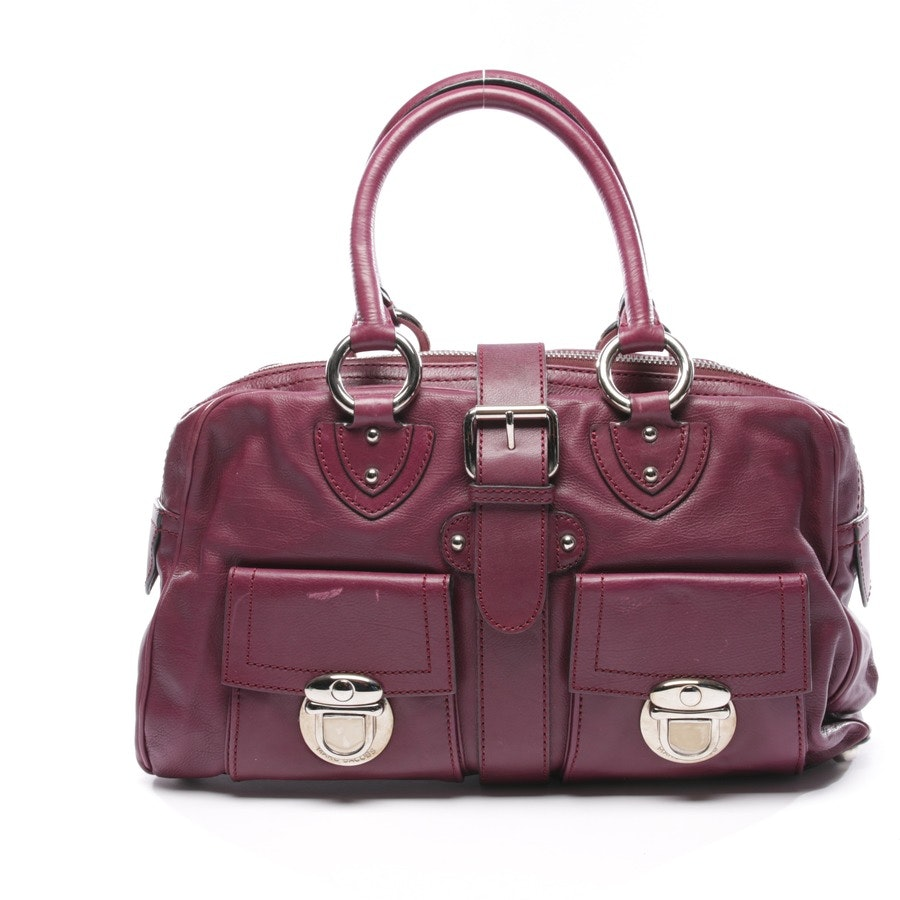 handbag from Marc Jacobs in eggplant