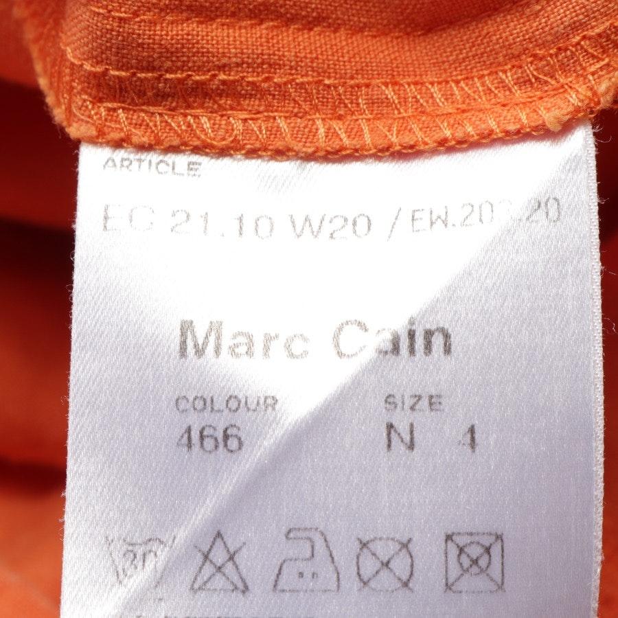 Leinenkleid von Marc Cain in Orange Gr. 40 N4