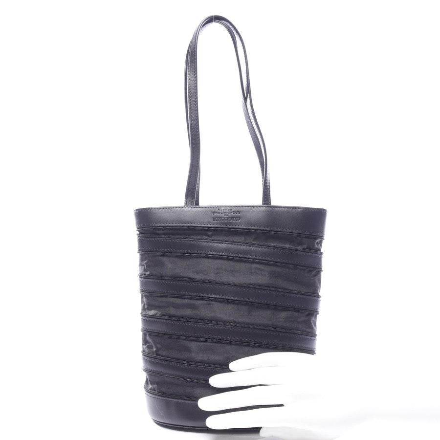 Handtasche von Longchamp in Schwarz