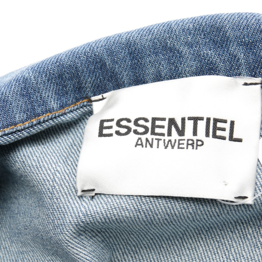 between-seasons jackets from Essentiel Antwerp in medium blue size 40