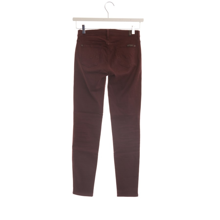 Jeans von 7 for all mankind in Lila Gr. W25