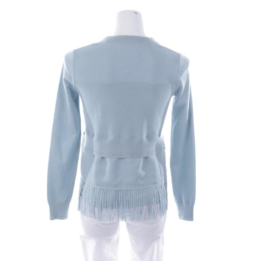 Pullover von Patrizia Pepe in Hellblau Gr. 32 / 0