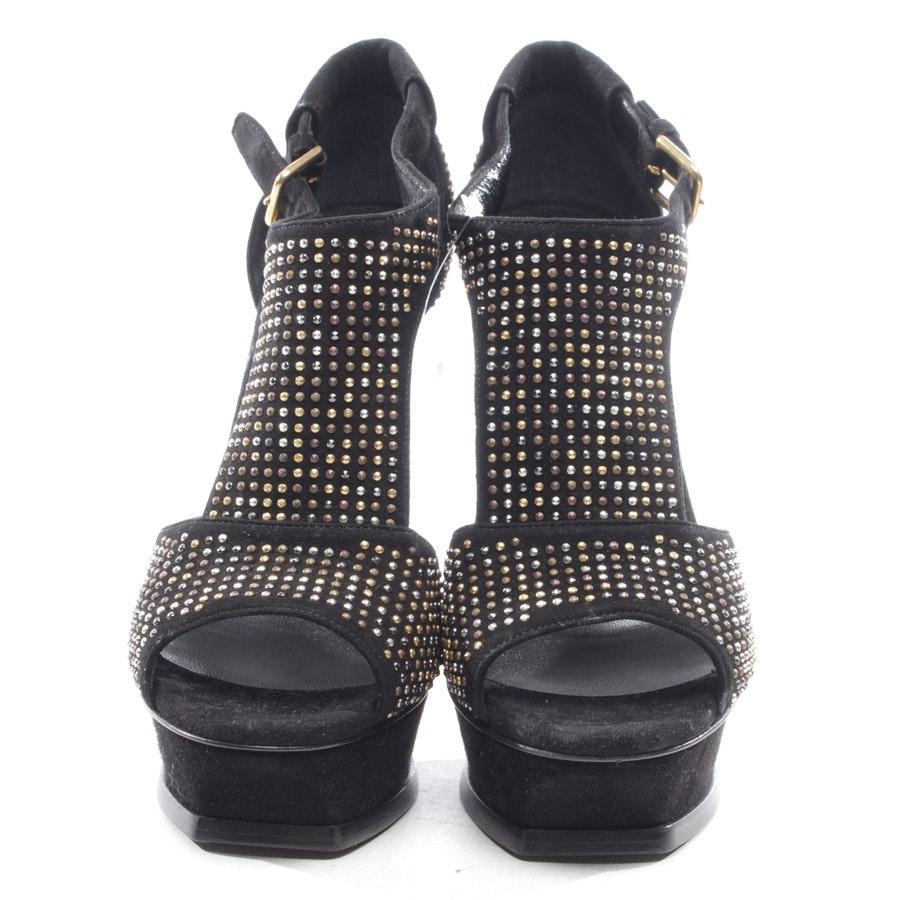 Sandaletten von Yves Saint Laurent in Schwarz Gr. D 37