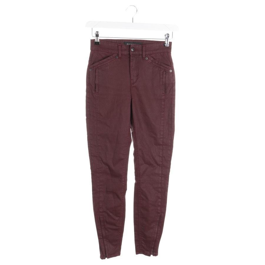 Jeans von Drykorn in Weinrot Gr. W26