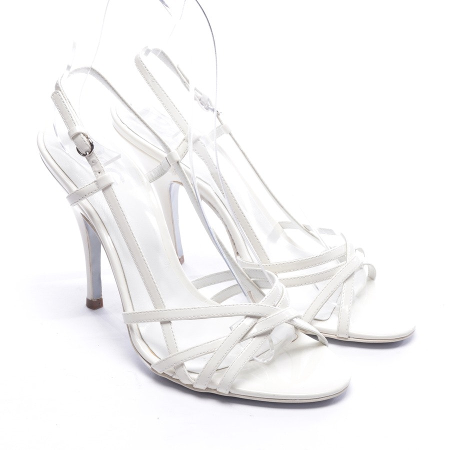 heeled sandals from D&G in cream size D 36 - new