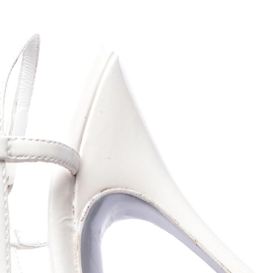 Sandaletten von D&G in Cremeweiß Gr. D 36 - Neu