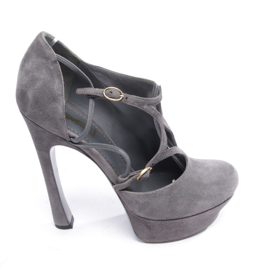 pumps from Yves Saint Laurent in grey size D 38,5 - tribtoo