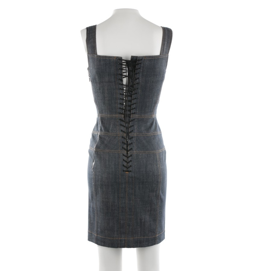 Jeanskleid von Alaia in Graublau Gr. XS