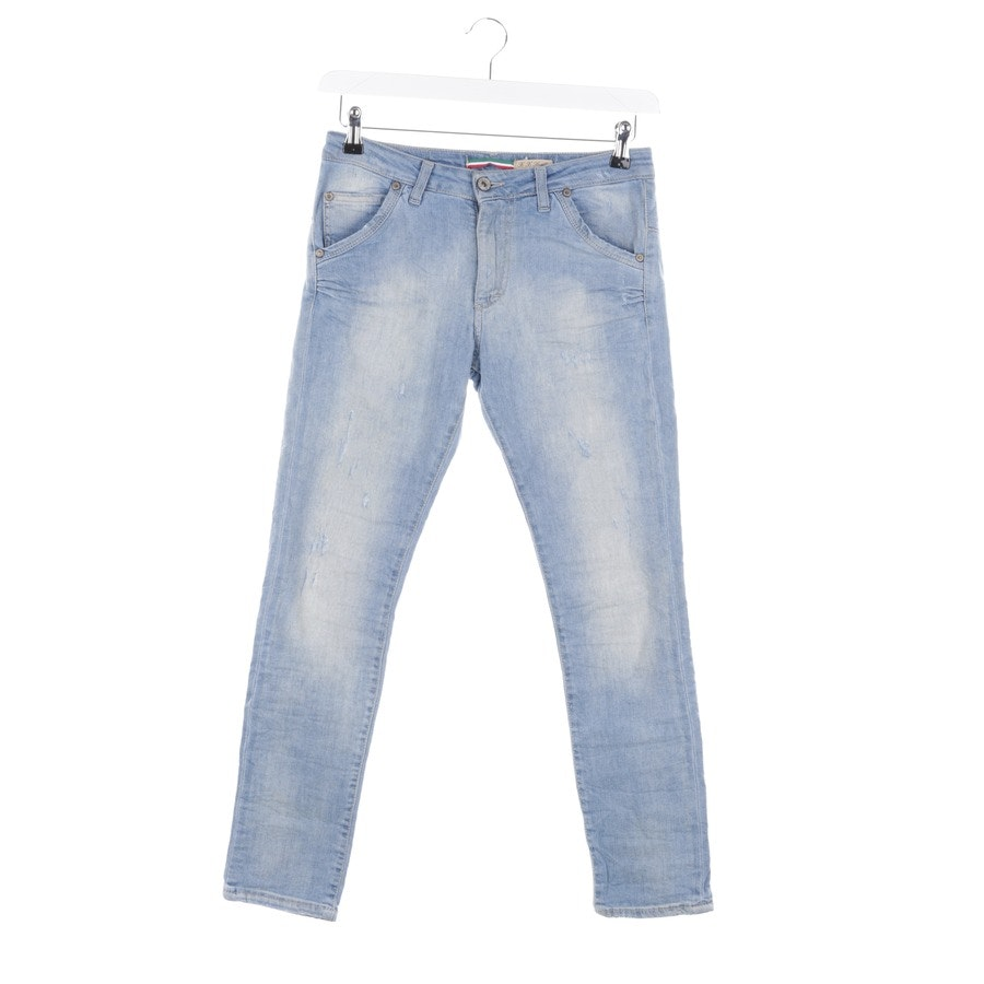 Jeans von Please in Hellblau Gr. 2XS