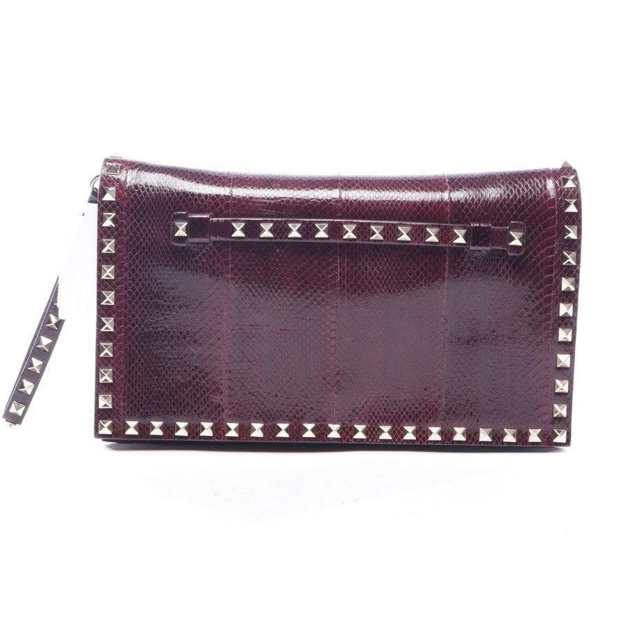 clutches from Valentino in plum - rockstud
