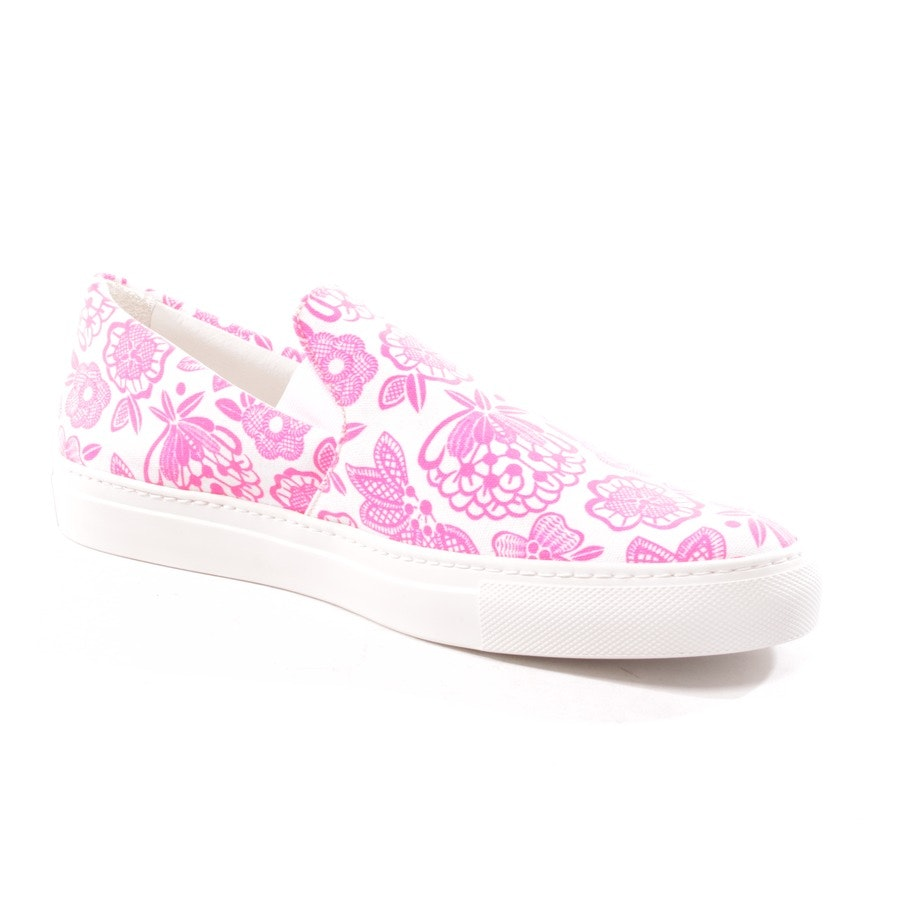 loafers from Christopher Kane in neon pink and white size EUR 41 - new
