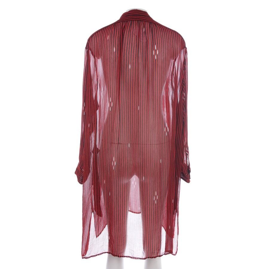Kleid von Isabel Marant Étoile in Rot und Schwarz Gr. 34 FR 36
