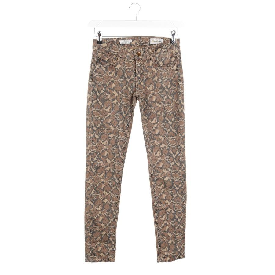 Jeans von Rich & Royal in Braun Gr. W25 - Skinny
