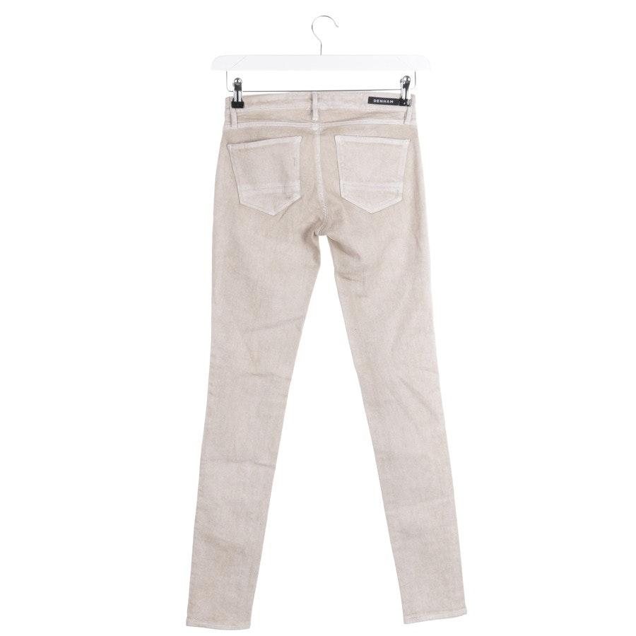 jeans from Denham in beige size W25