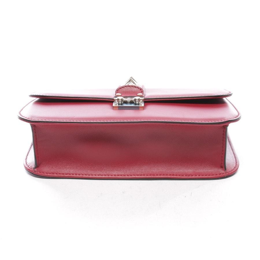 Schultertasche von Valentino in Rot - Rockstud - Neu