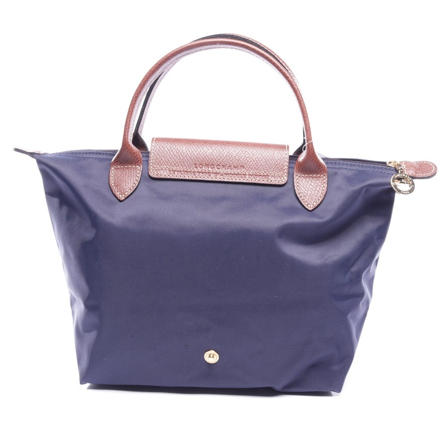 handbag from Longchamp in navy - le pliage s