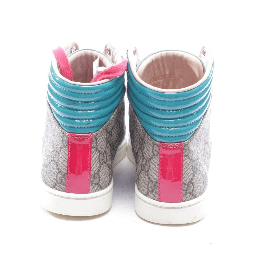 High-Top Sneaker von Gucci in Multicolor Gr. D 35