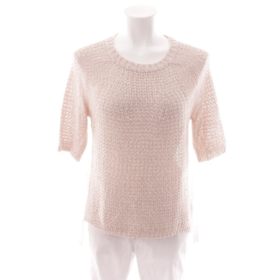 knitwear from Oui in white and pink size DE 36