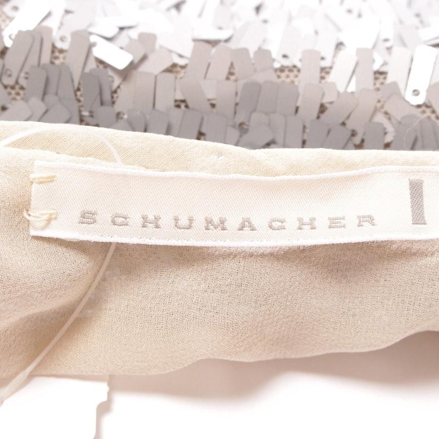 Top von Schumacher in Grau und Beige Gr. S