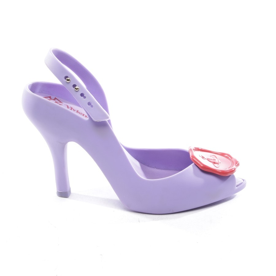 heeled sandals from Vivienne Westwood Anglomania in lilac and red size D 36