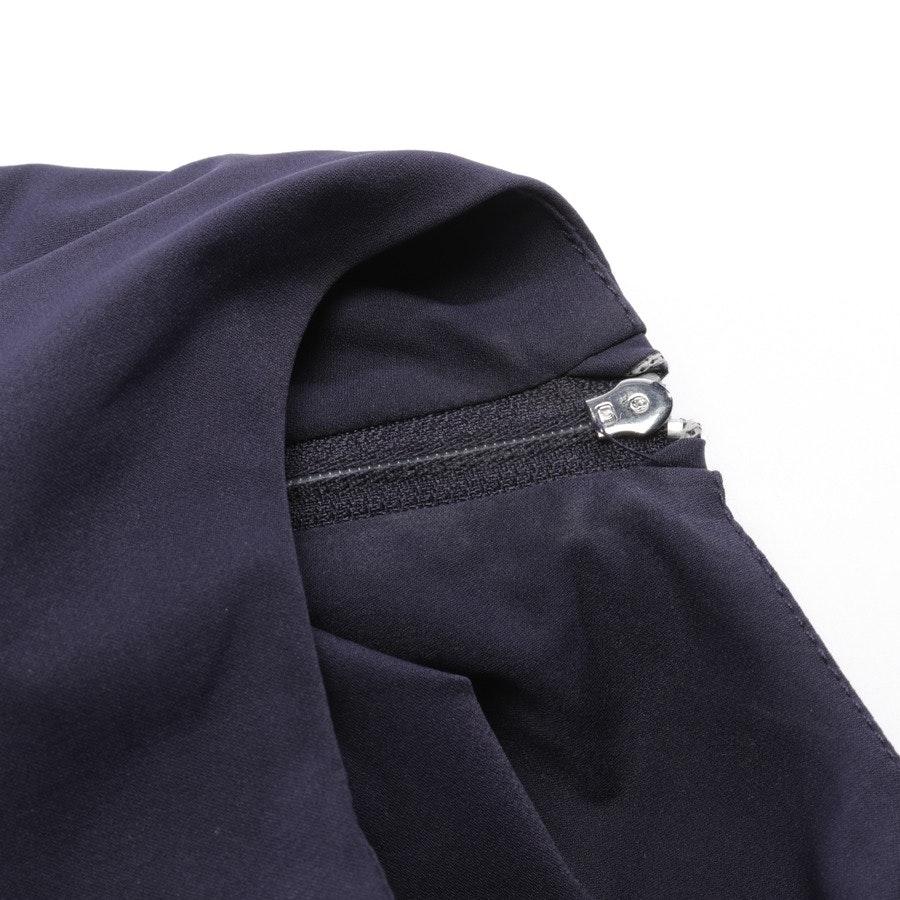 Kleid von Diane von Furstenberg in Dunkelblau Gr. 36 US 6 - Alba Two