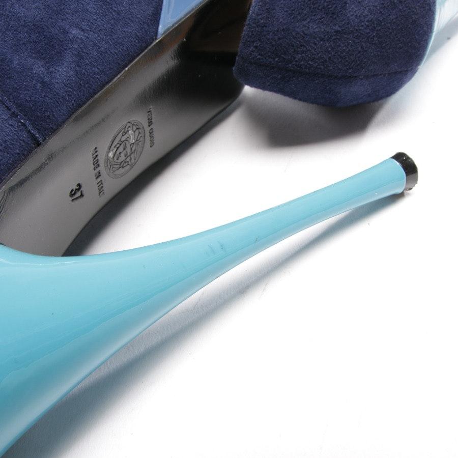 Pumps von Versace in Blau Gr. D 37