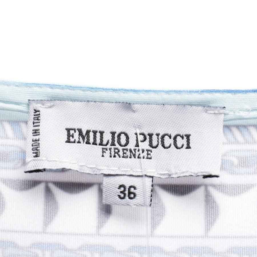 Seidenkleid von Emilio Pucci in Multicolor Gr. 30 IT 36