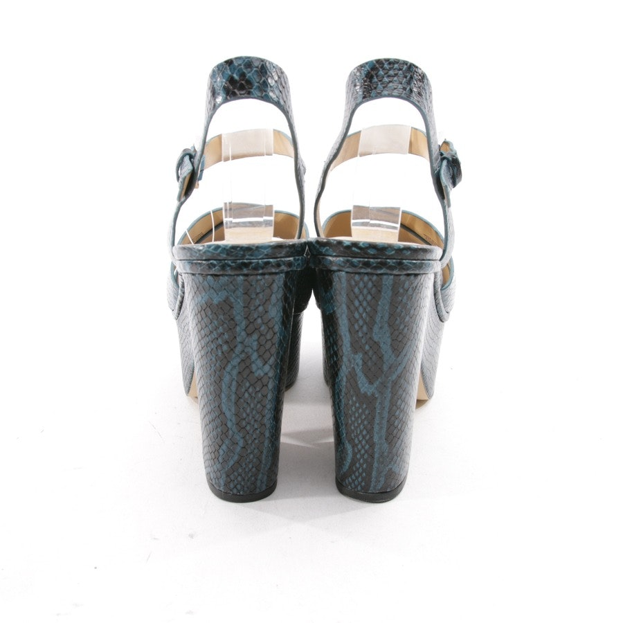 heeled sandals from Michael Kors in petrol size D 39,5 US 9,5