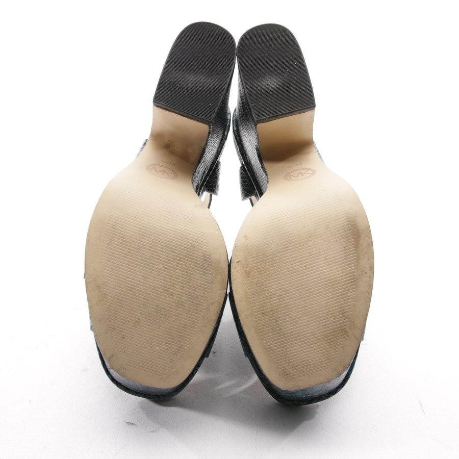 Sandaletten von Michael Kors in Petrol Gr. D 39,5 US 9,5