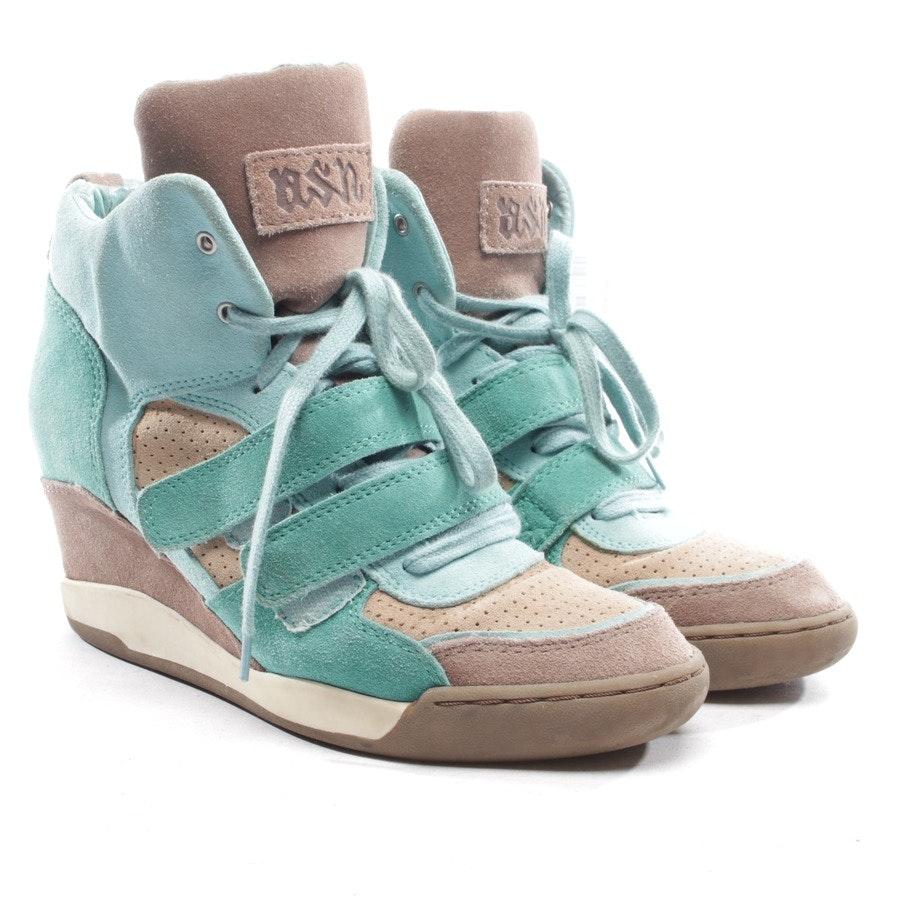 High-Top Sneaker von Ash in Türkis und Braun Gr. D 41