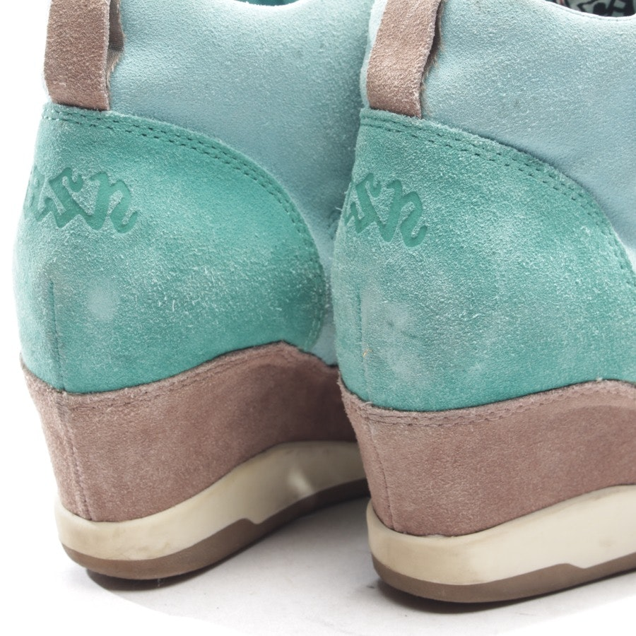 trainers from Ash in turquoise and brown size D 41
